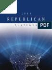 2008 Republican Platform
