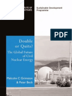 Future of Civil Nuclear Energy