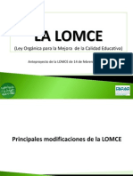 LOMCE Pp FAPAR Version 12 Febrero