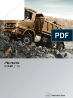 Catalogo Camion Volquete Merdez Benz Actros 3344 K