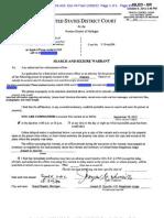 iPhone Seizure Report
