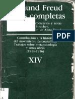 Freud Vol 14 Pp000 Cubierta e Indice oCS