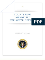 White House Policy on Countering IEDs