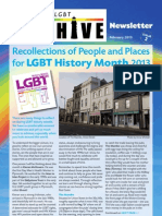 Friends of the Plymouth LGBT Archive Newsletter 2