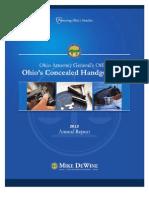 Ohio's Concealed Handgun Law 2012 Annual Report