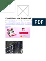 Contabilitatea Unui Domeniu Web