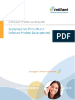 Whitepaper Final-Applying Lean Principles to Software Product Dev