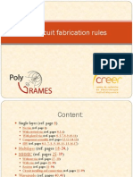 RF Circuit Fabrication Rules