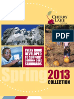 Cherry Lake Publishing Spring 2013 Catalog Supplement