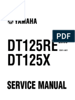 Yamaha Dt125X Re-05-Service Manual