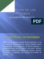 LA UNCIÓN DE LOS ENFERMOS CEC