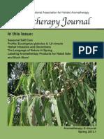 Spring 2013.1 Aromatherapy Journal