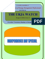 2. the Urja Watch - August - Independence Day Edition