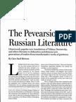 The Pevearsion of Russian Literature