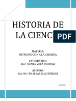Historia de La Ciencia Zacni