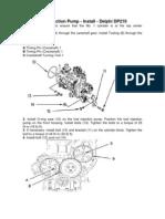 Delphi DP210 Fuel Injection Pump Cat
