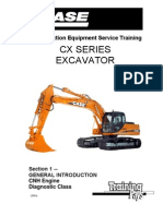 Case CX 210 Exc Trainnig Service