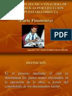 Liquidacion Financiera de Obras