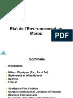 24541164 Etat de l Environnement Au Maroc