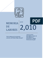 Aepdi Memoria de Labores 2,010