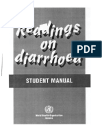 WHO Readings on Diarrhoea Student Manual 1992