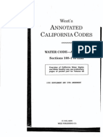 West's Annotated California Codes Water Code-Appendix Sections 108-1 to End