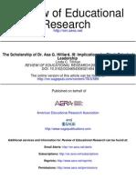 The Scholarship of Dr. Asa G. Hilliard, III: Implications for Black Principal Leadership • by Linda C. Tillman