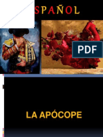 ESP 3º ANO - APOCOPE