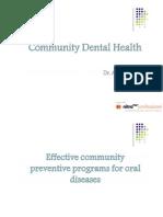 Community Dental Health