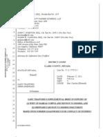 Prosecutorial Misconduct Brief