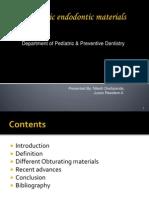 Pediatric Endo Don Tic Materials