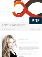 Karen Wickham Sample Portfolio 2013