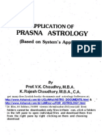 Prasna Application by v.K. Choudry