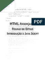 HTML Avançado