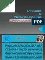 Antologia de Los Microprocesadores