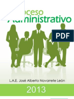 Proceso Administrativo 2013