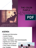 The Color Purple Powerpoint