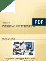 Pengertian Output Dan Input
