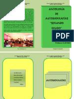 Antología de autografías 2013