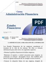 Estados Financieros MBA