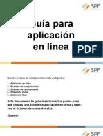 GUÍA DE APLICACION EN LÍNEA 3513