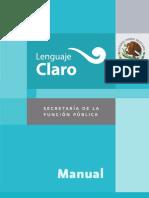 Manual de lenguaje claro