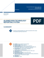 Case Study Aligned Risk Technology Banking Luxoft for a Top Ten Global Investment Bank
