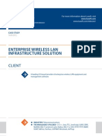 Case Study Enterprise Wireless Lan Telecommunications Luxoft for Us Based Provider of Enterprise Wireless Lan Equipment