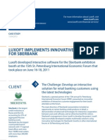 Case Study Luxoft Implements Innovative Solutions Banking Luxoft for Sberbank