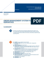 Case Study Order Management System Banking Luxoft for Top10global Investment Bank