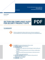 Case Study Section 508 Compliance Audit Luxoft for International Independent Software Vendor