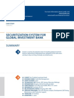 Case Study Securitization System Banking Luxoft for Top10global Investment Bank