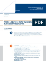 Case Study Trade Lifecycle Data Banking Luxoft for Top5 Global Investment Bank