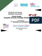Programa Ciencias Sociales10moy11mo